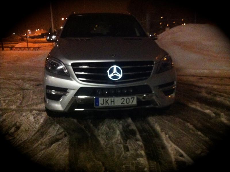 Ckm Car Design Se Illuminated Mercedes Star
