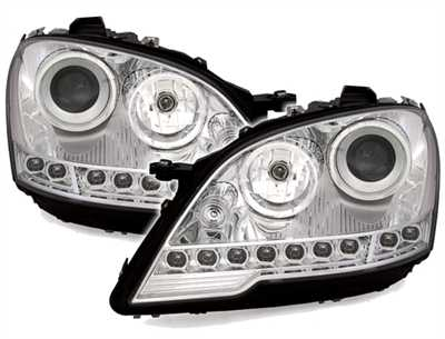 Clear frontlights DEVIL Eyes 2 pcs set 08- facelift