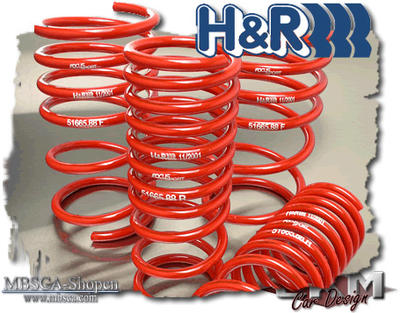 Lowering kit H&R cupkit