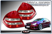 Clearglas taillights Red/Clear LEDS 2 pcs