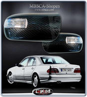 Mirrorcovers in carbon with turn signals 96-99.