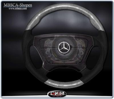 wheel  Silver carbon/black Leather Sport