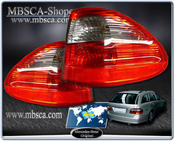 Clearglas taillights Wagon Red/Smoke with LEDs 2 pcs