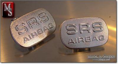 SRS emblem. 2 pcs