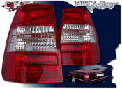 Clearglas Taillights Wagon 2pcs V2