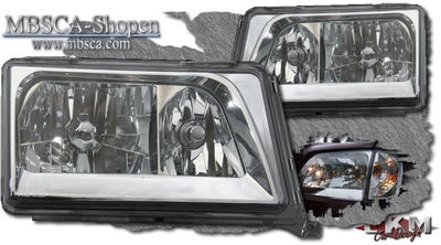 Crystal Frontlights 2pcs