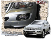 Chrome trims for fog lamps 2 pcs
