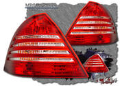 Clearglas taillights 3 pcs Red/Clear