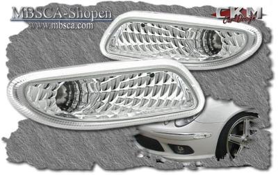 Clear bumper lights 2pcs
