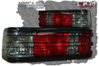Clearglas taillights Red/Smoke 2 pcs