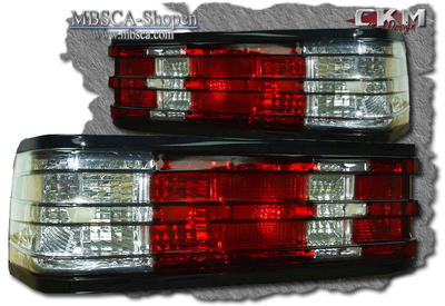 Clearglas taillights Red/Clear  2 pcs