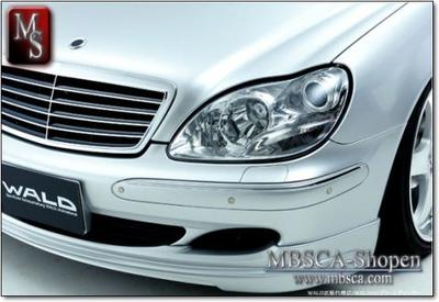 Clear glas facelift frontlights 2pcs