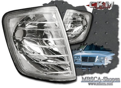 Clear frontblinkers 2pcs
