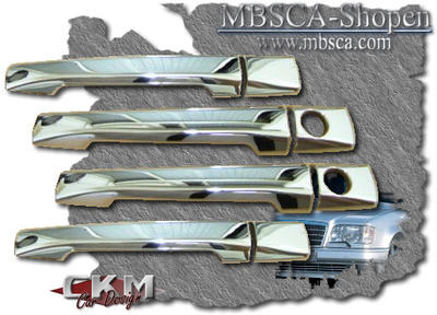 Chrome handle covers 4 pcs.