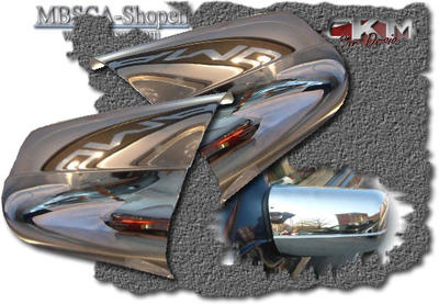 Chromecovers for mirrors