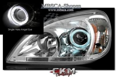 Clear frontlights Angel Eyes 2 pcs set