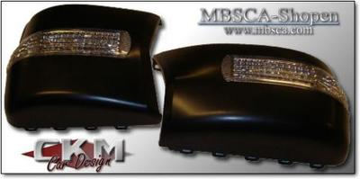 Mirrorcovers with turn signals 2 pcs