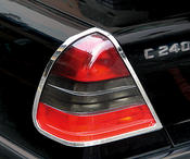 Chrome rings taillights 2 pcs set