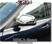 Chrome outside mirror covers 2pcs