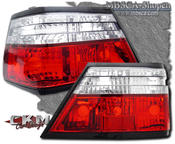 Clearglas Taillights Red/Clear 2pcs