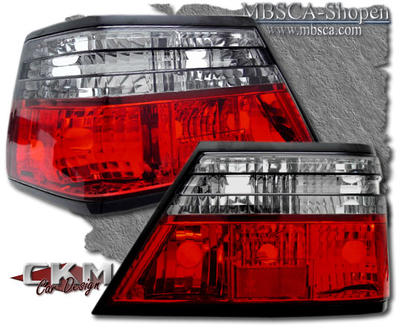 Clearglas Taillights Red/Smoke 2pcs