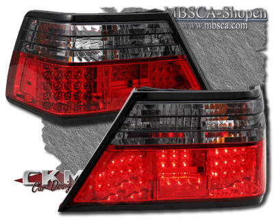 Clearglas Taillights with LEDs Red/smoke 2pcs