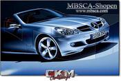 5. Spoiler läppar 2st Mercedes orginal