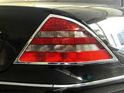 Chromerings for taillights 2 pcs set