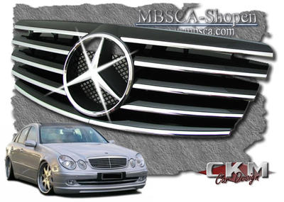 Avantgarde sport grill with MB org star