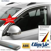 Wind deflector grey 2pcs