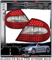 Clear taillights LED 2 pcs set