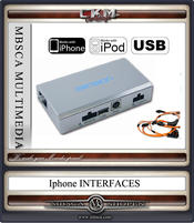IPHONE IPOD och USB MP3 interface Comand 2.0 D2B