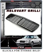 Avantgarde Grill 6 ribbs HELSVART 96-99