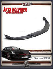 1. SLS Carbon  front lip 1pcs