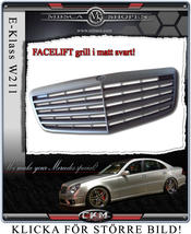 Avant grill faclift black.