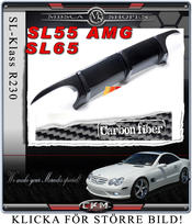 "6. CKM ""AMG look"" duffuser in Carbon Fiber for SL55/SL65"