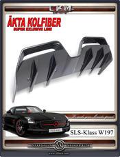 1. SLS Carbon diffuser 1pcs