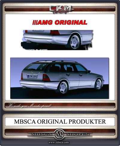 2. W202 AMG Original back bumper for Wagon