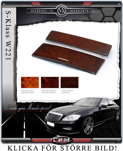 Wood center console 2 pcs MB Original