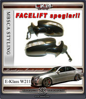 Speglar FACELIFT 1 st komplett Electric folding