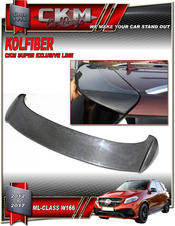 1. CKM Carbon roof wing extension 1pcs