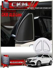 Alu-Line 2 st Alu speaker look trims front.