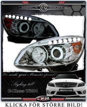 Clear headlights DEVIL Eyes 2pcs set