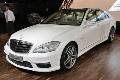 "1. CKM ""S65 A-look"" facelift komplett front"