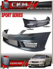 "1. CKM ""S65 A-look"" facelift komplett front"
