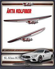 1. CKM vinge baklucka  i äkta kolfiber RED Edition