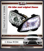 "Clearglas headlights ""Devil eyes"" DRL LED V2"