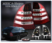 Clearglas Taillights Wagon LED 2pcs Red/Clear