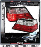Clearglas Taillights with LEDs Red/Clear V2 2pcs