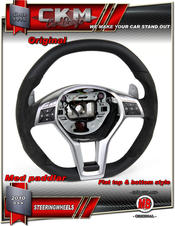 1. Steering Wheel AMG OEM Leather/Suede